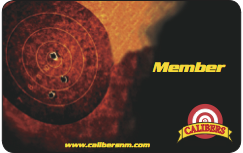 Calibers Membership Card Image