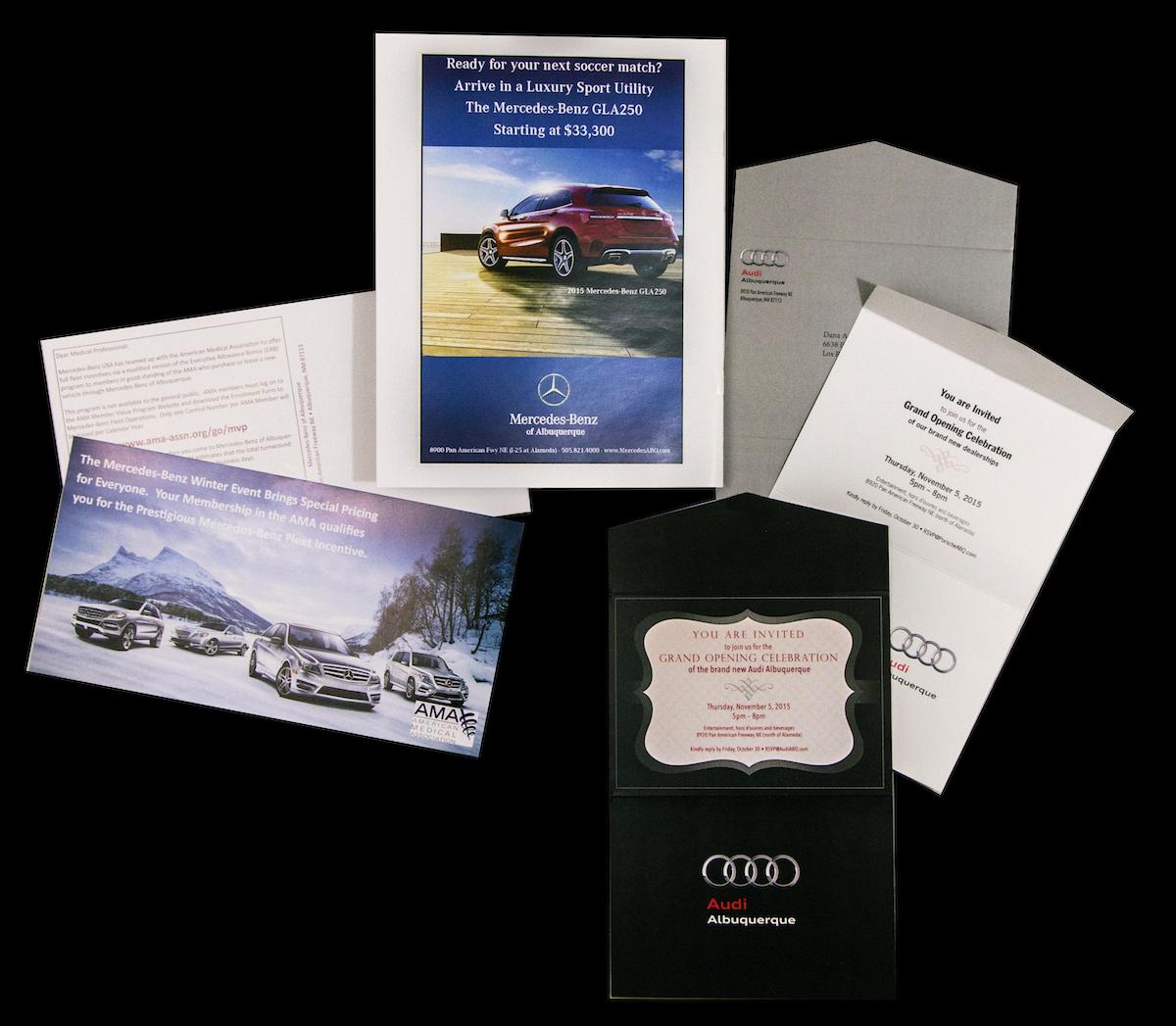 Mercedes Audi Invites Image