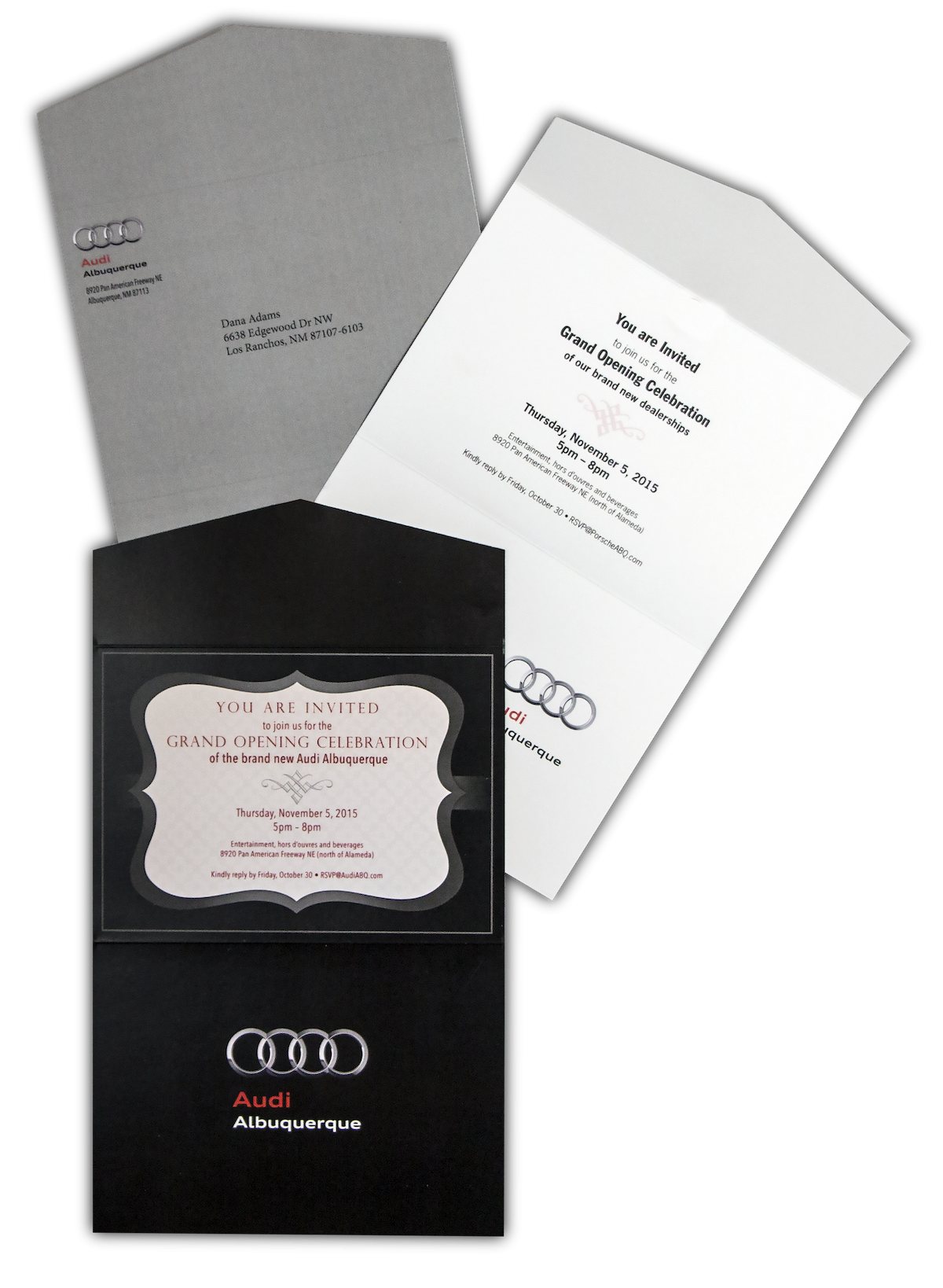 Audi Albuquerque Invitations Image