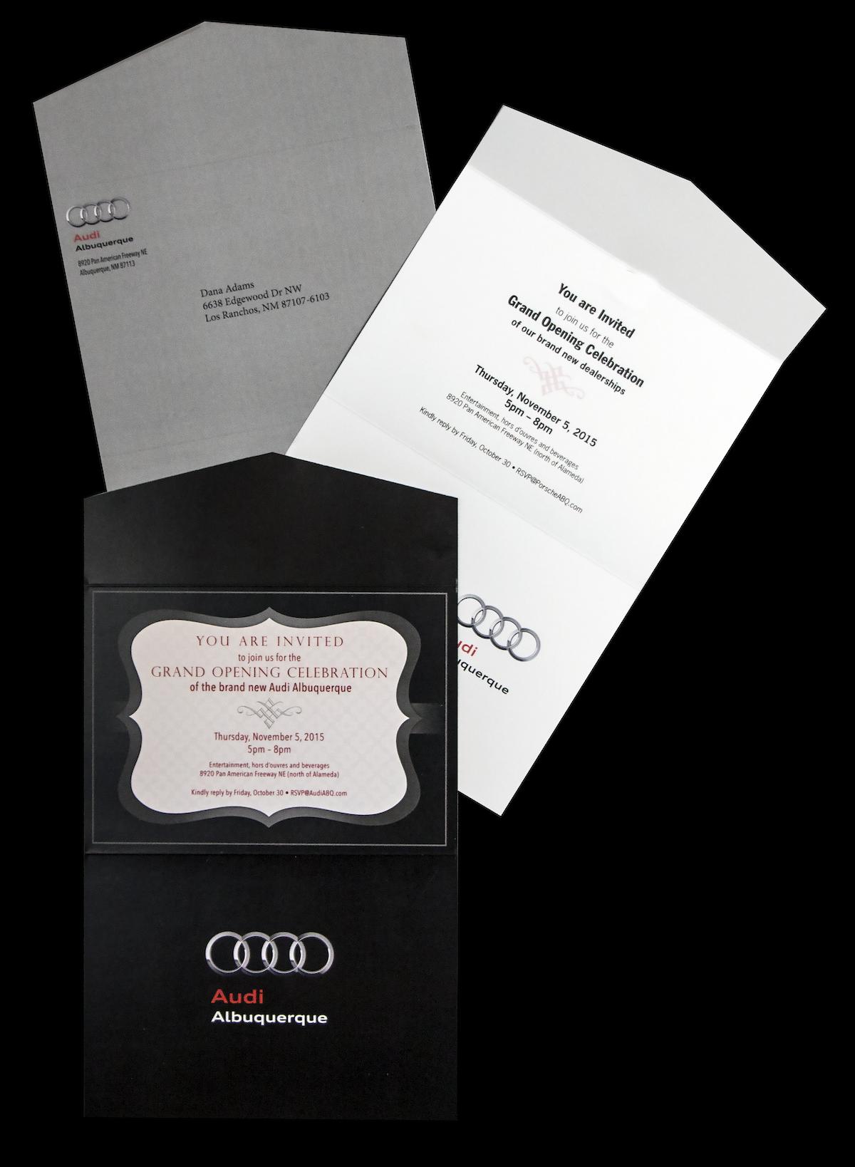 Audi Albuquerque Invitations Image
